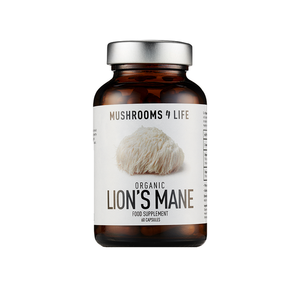 MUSHROOMS4LIFE Organic Lion's Mane Capsules