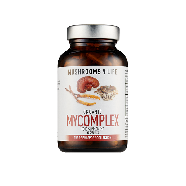 MUSHROOMS4LIFE Organic Mycomplex Capsules