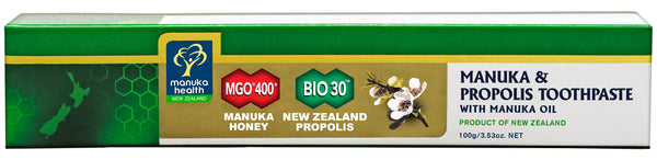 MANUKA HEALTH Manuka Honey & Propolis Toothpaste with Manuka Oil