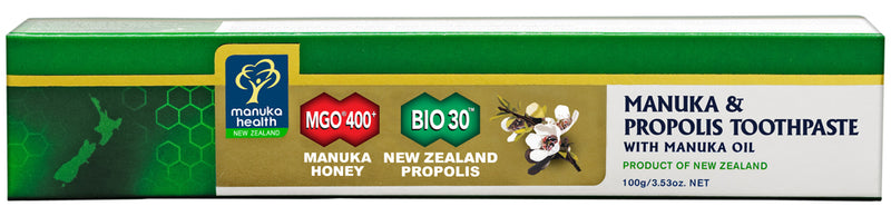 MANUKA HEALTH MGO 400+ Honey & Propolis Toothpaste With Manuka Oil