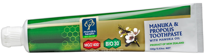 MGO 400+ Honey & Propolis Toothpaste With Manuka Oil