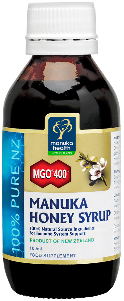 MGO 400+ Manuka Honey Syrup