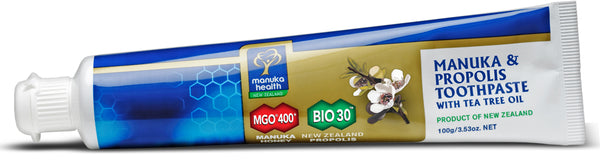 MGO 400+ Honey & Propolis Toothpaste With Tea Tree Oil