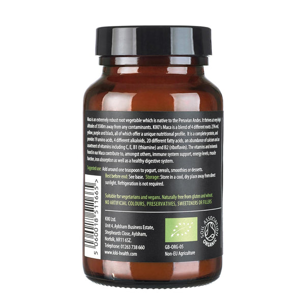 Organic Premium 4 Root Maca Powder