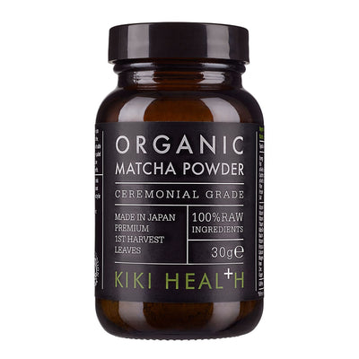 KIKI HEALTH Organic Ceremonial Grade Matcha Powder
