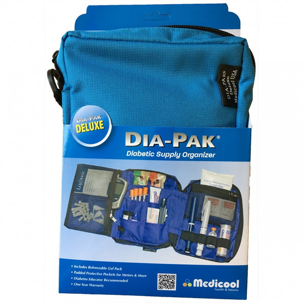 DIA-PAK Deluxe Diabetic Supply Organiser