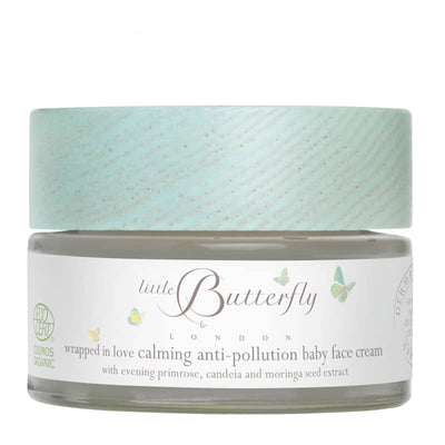 LITTLE BUTTERFLY LONDON Wrapped In Love Calming Anti-Pollution Face Cream