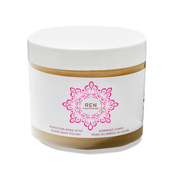 REN CLEAN SKINCARE Moroccan Rose Otto Sugar Body Polish