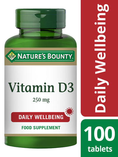NATURE'S BOUNTY Vitamin D3 25 µg (1000 IU) Tablets