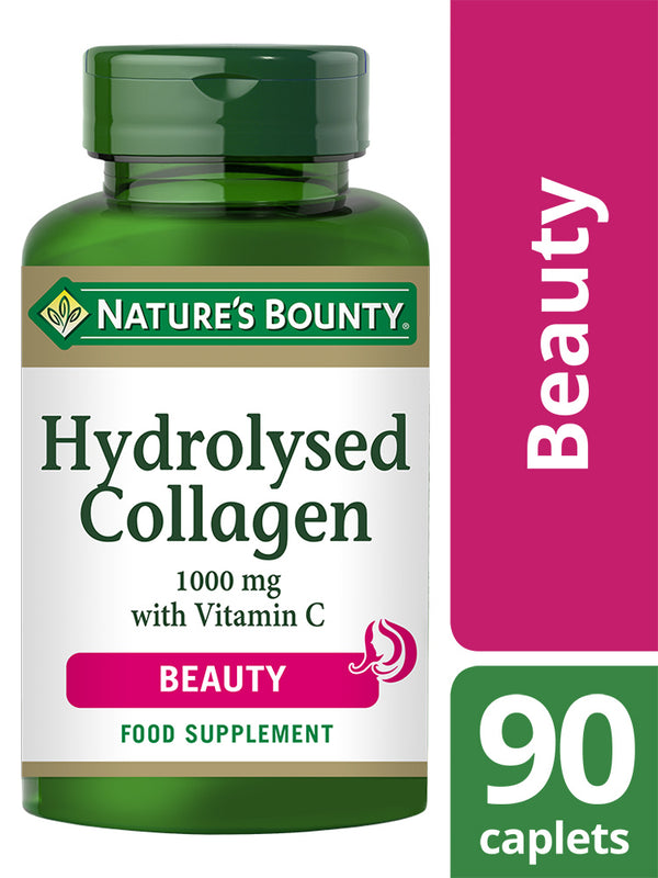 NATURE'S BOUNTY Hydrolysed Collagen 1000 mg with Vitamin C Caplets