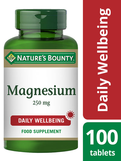NATURE'S BOUNTY Magnesium 250 mg Tablets