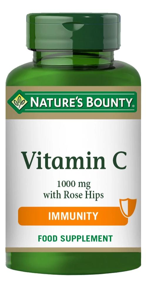 NATURE'S BOUNTY Vitamin C 1000 mg with Rose Hips Caplets