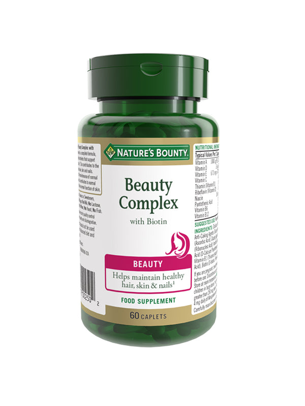Beauty Complex with Biotin Caplets