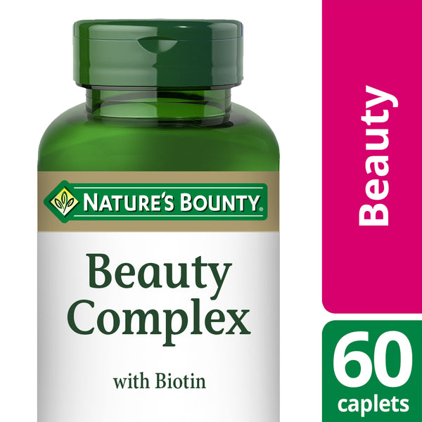 NATURE'S BOUNTY Beauty Complex with Biotin Caplets