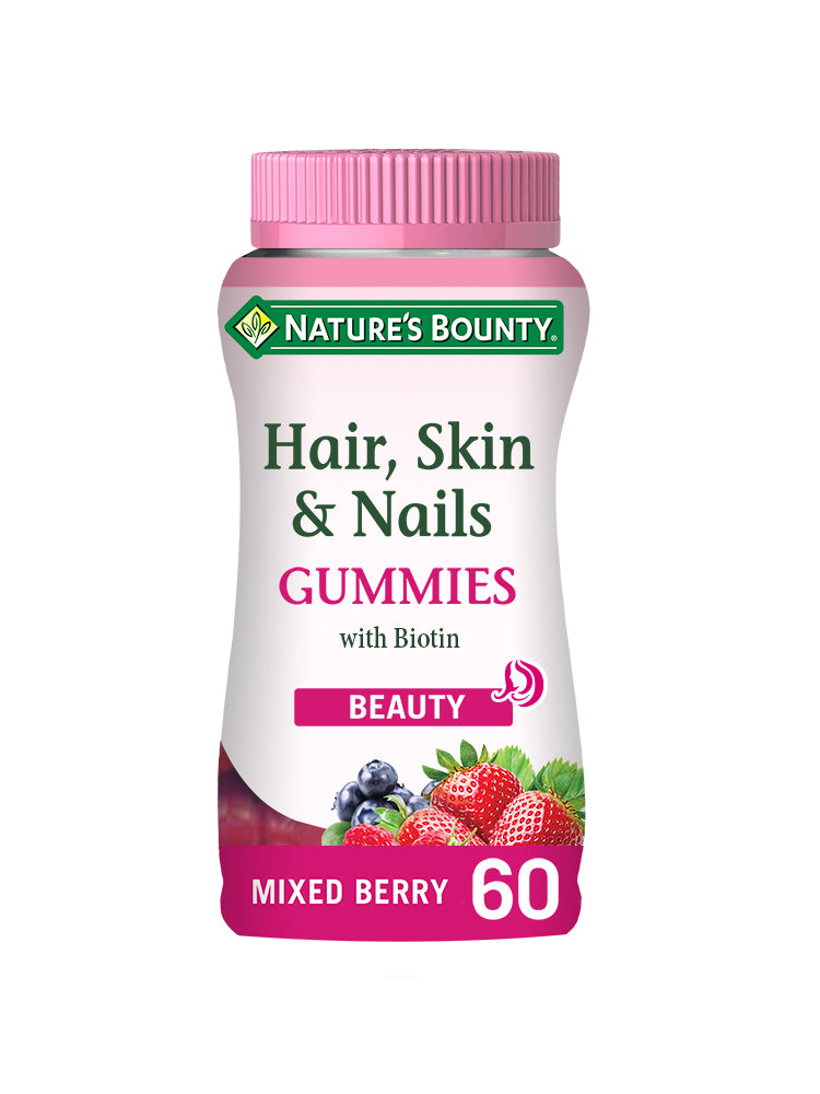 Hair, Skin and Nails Gummies with Biotin