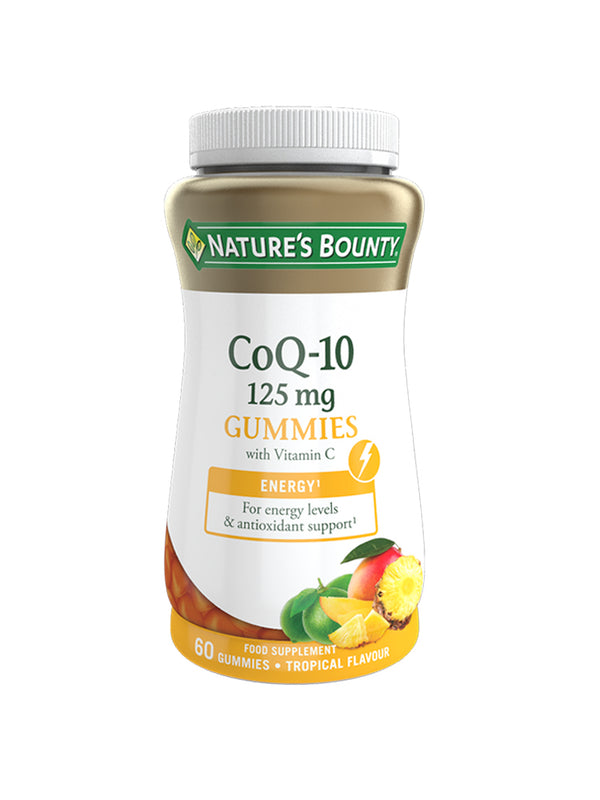 CoQ-10 125 mg with Vitamin C Gummies - Pack of 60