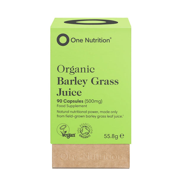 ONE NUTRITION Barley Grass Capsules 500mg