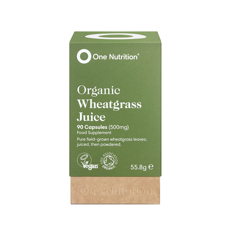 ONE NUTRITION Wheatgrass Capsules 500Mg