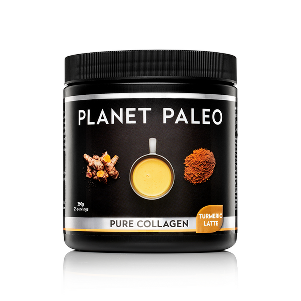 PLANET PALEO Pure Collagen Turmeric Latte