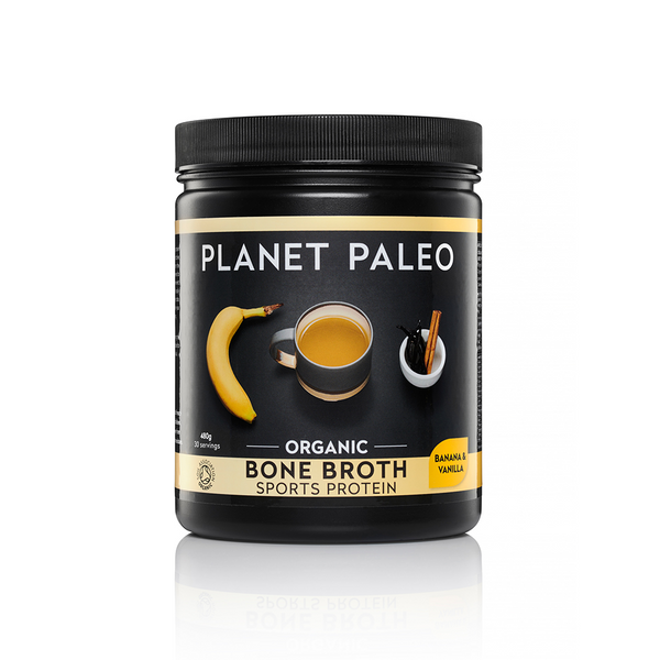 Organic Bone Broth Sports Protein Vanilla & Banana