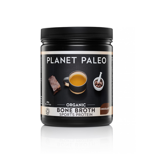 Organic Bone Broth Sports Protein Chocolate