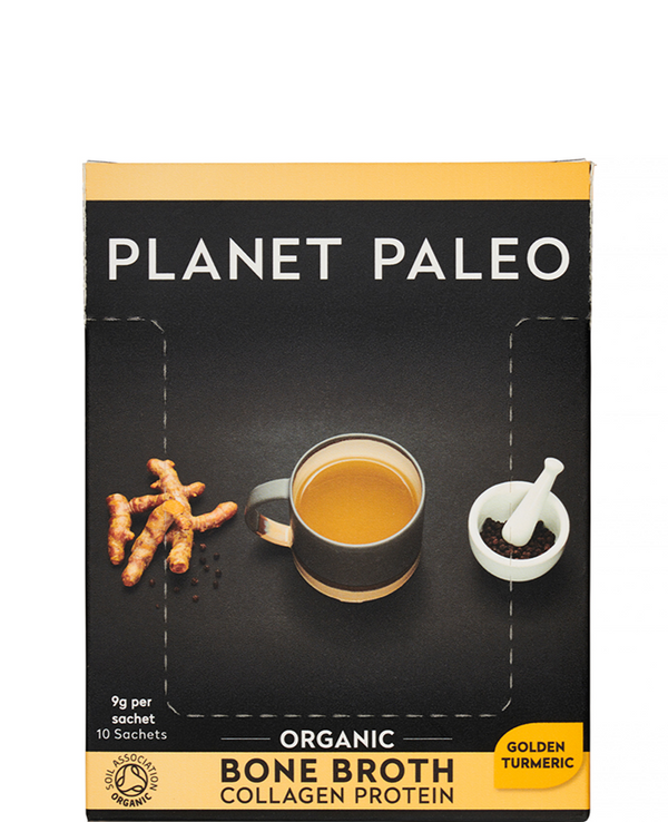 PLANET PALEO Organic Bone Broth Turmeric