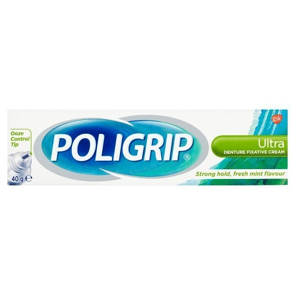 POLIGRIP Ultra Denture Fixative Cream