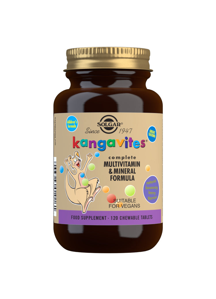 Kangavites Bouncing Berry Complete Multivitamin and Mineral Formula