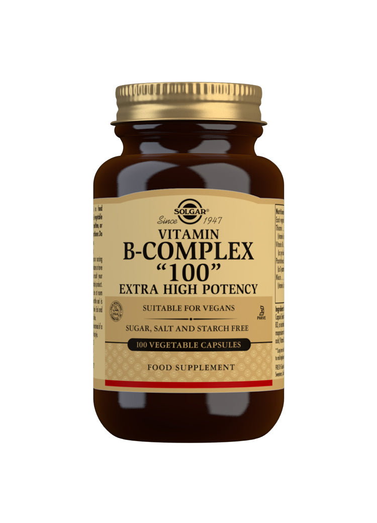 "Vitamin B-Complex ""100"" Extra High Potency"