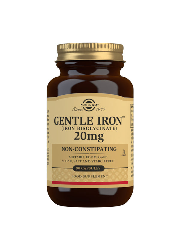 SOLGAR Gentle Iron (Iron Bisglycinate) 20 mg