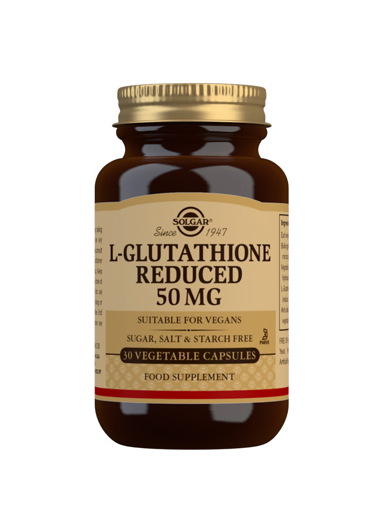 SOLGAR L-Glutathione Reduced 50 mg
