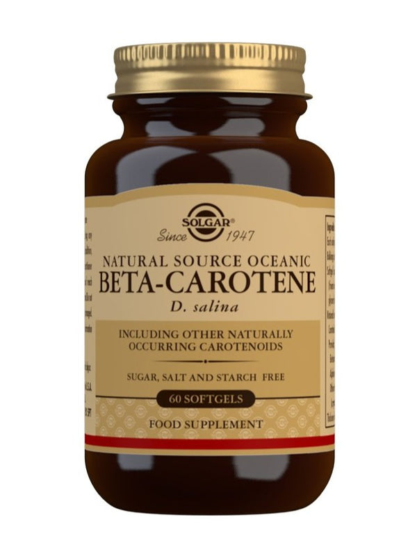SOLGAR Natural Source Oceanic Beta Carotene