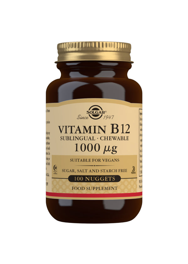 SOLGAR Vitamin B12 1000 µg Sublingual