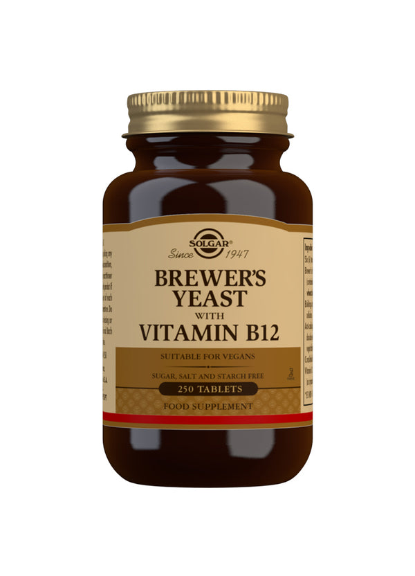 SOLGAR Brewer's Yeast with Vitamin B12