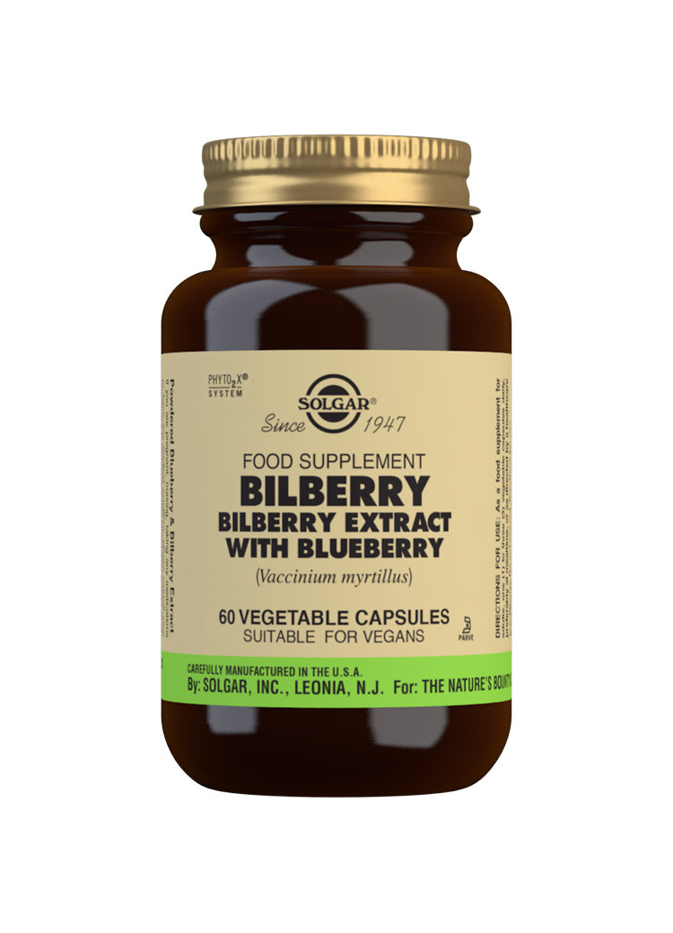 SOLGAR Bilberry Berry Extract with Blueberry