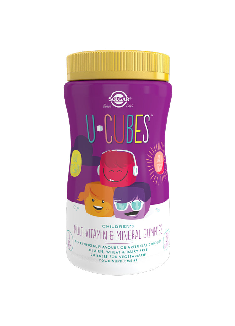 SOLGAR U-Cubes Children's Multi-Vitamin and Mineral