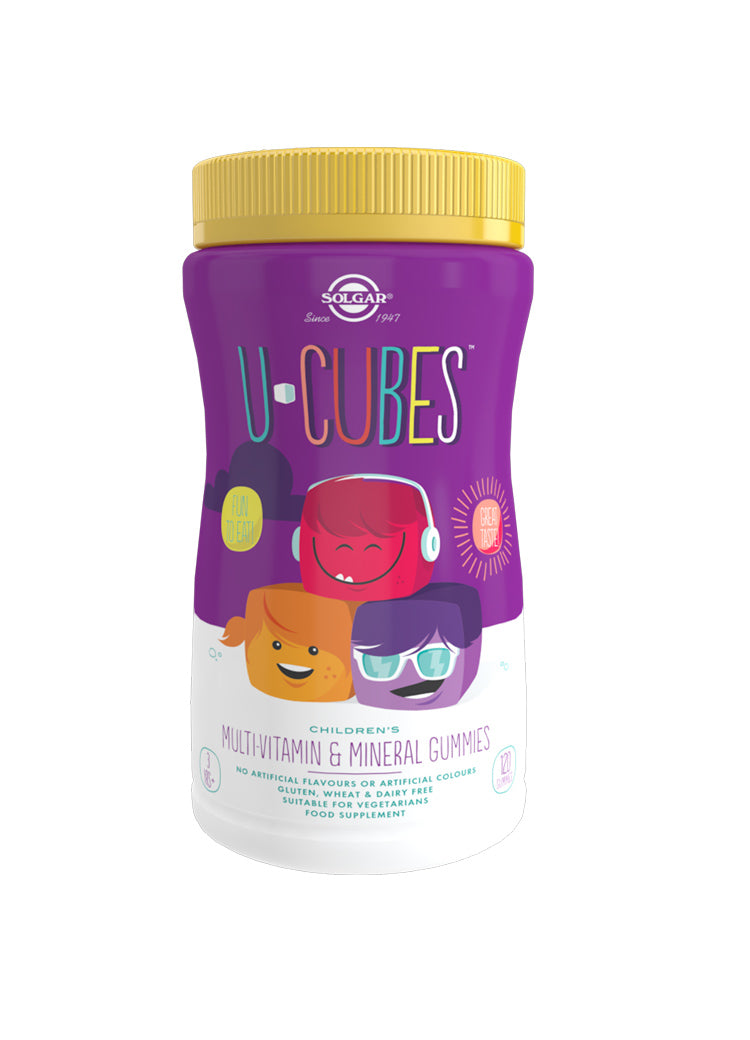 U-Cubes Children's Multi-Vitamin and Mineral