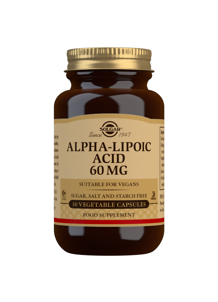 SOLGAR Alpha-Lipoic Acid 60mg