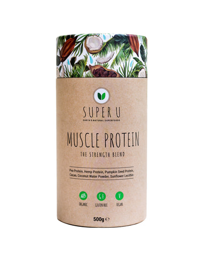SUPER U Muscle Protein - The Strength Blend