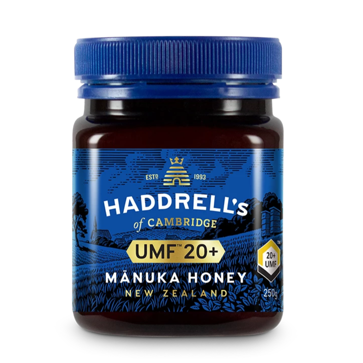 HADDRELL'S OF CAMBRIDGE Manuka Honey UMF 20+
