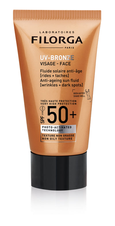 FILORGA UV Bronze Visage: Anti-Ageing Face Cream SPF50+