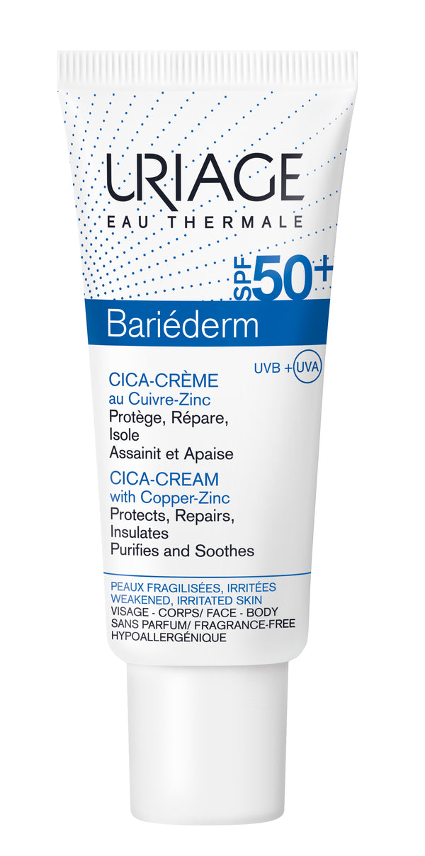 Bariéderm Cica-Cream With Copper-Zinc SPF50+