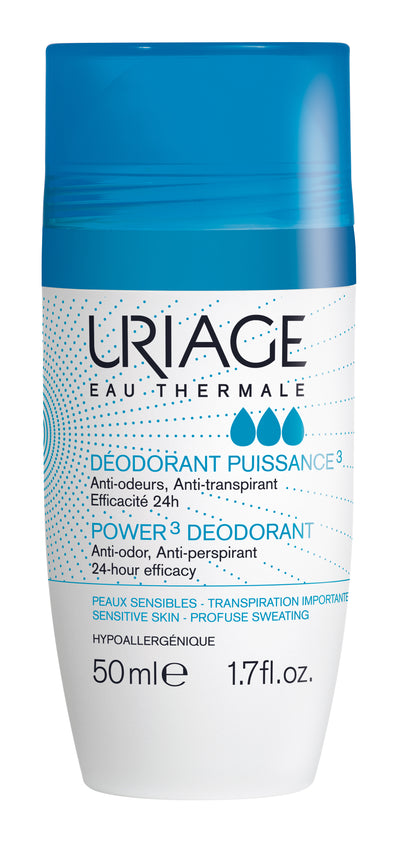 URIAGE Power3 Deodorant Roll-On