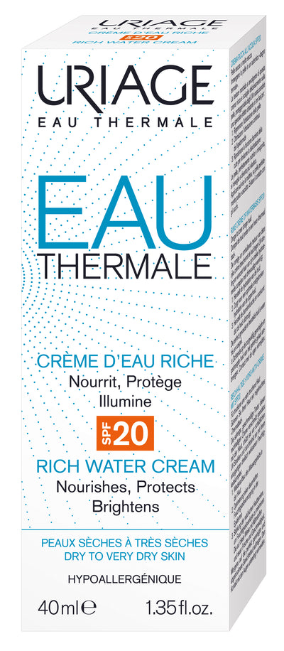 URIAGE Thermal Water Rich Water Cream Spf20