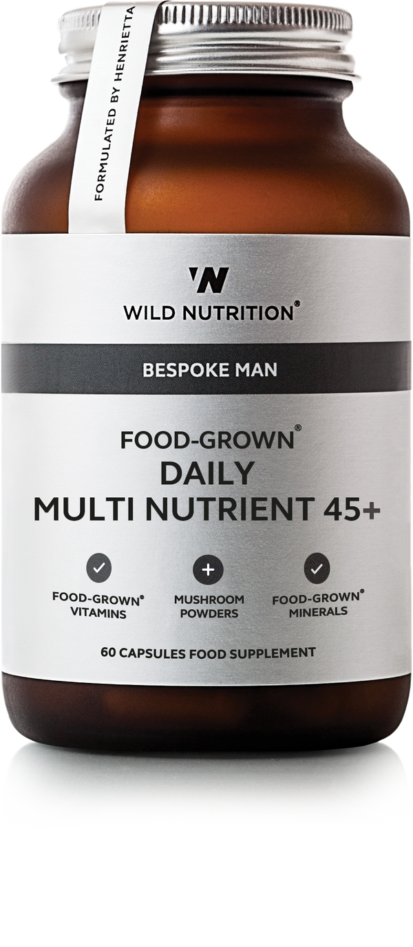 WILD NUTRITION Men's Food-Grown® Daily Multi Nutrient 45+