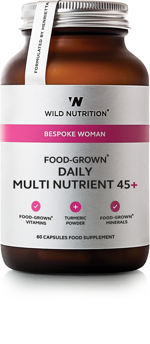 WILD NUTRITION Women's Food-Grown® Daily Multi Nutrient 45+
