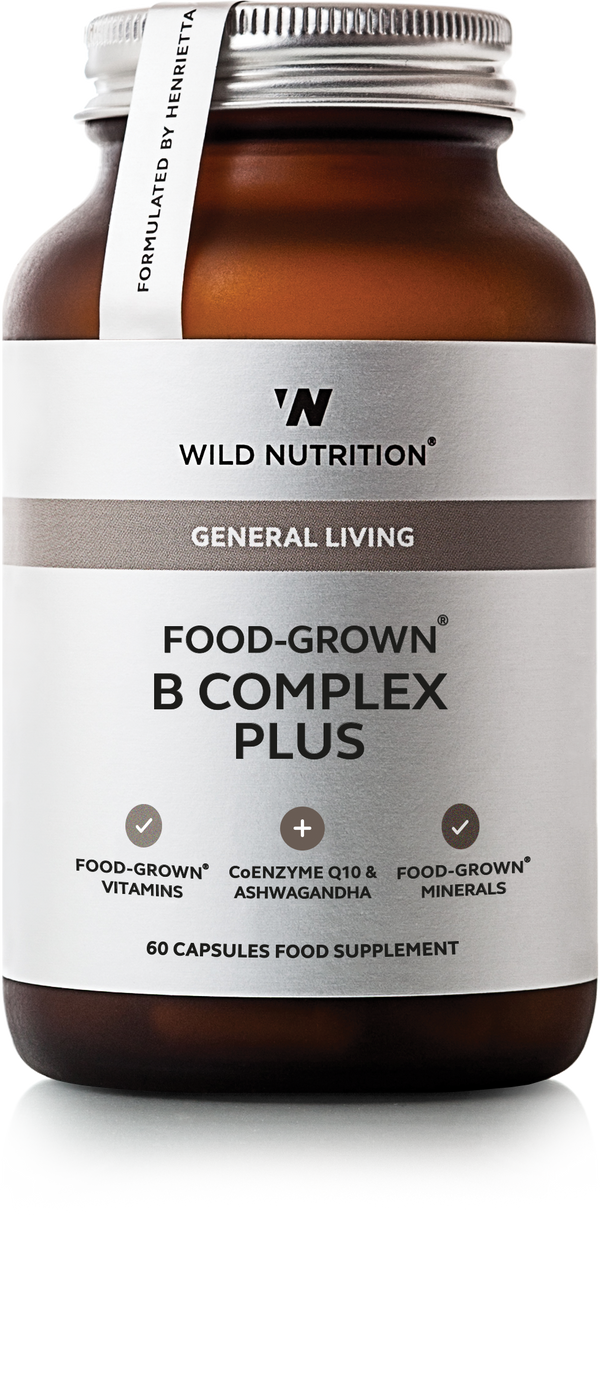 WILD NUTRITION Food-Grown® B Complex Plus