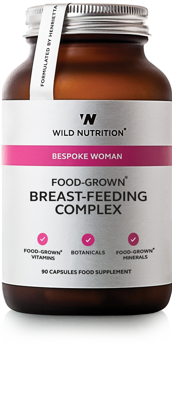 WILD NUTRITION Food-Grown® Breast-Feeding Complex