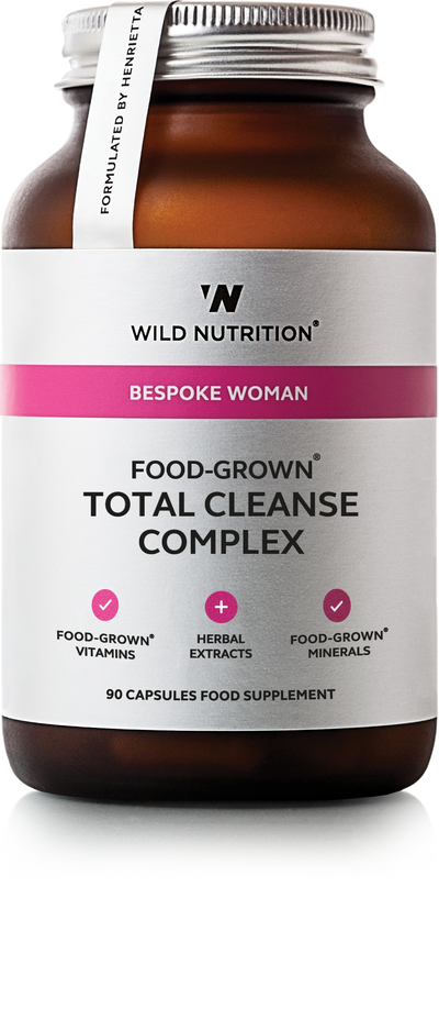 WILD NUTRITION Food-Grown® Total Cleanse Complex