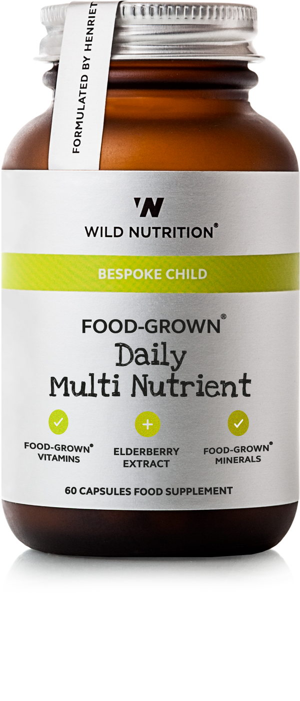 WILD NUTRITION Children's Food-Grown® Daily Multi Nutrient